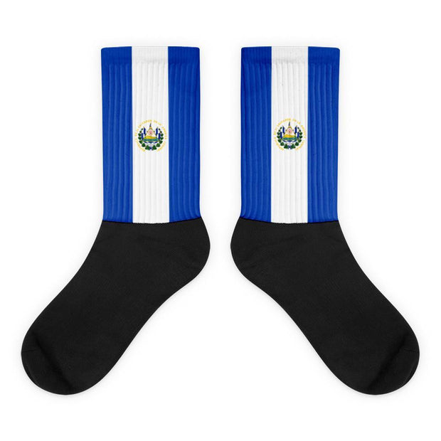 El Salvador Flag Socks Choose To Rep M (6-8) Country Flag Socks, State Socks, Flag Socks, Patriotic Socks, Patriotic Products, Country Watches