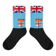 Fiji Flag Socks Choose To Rep M (6-8) Country Flag Socks, State Socks, Flag Socks, Patriotic Socks, Patriotic Products, Country Watches