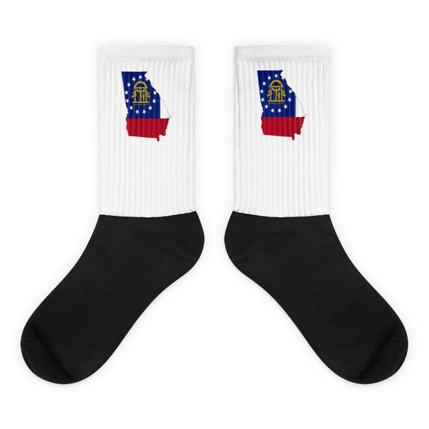 Georgia - State Socks Choose To Rep M (6-8) Country Flag Socks, State Socks, Flag Socks, Patriotic Socks, Patriotic Products, Country Watches