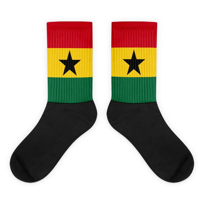 Ghana Flag Socks Choose To Rep M (6-8) Country Flag Socks, State Socks, Flag Socks, Patriotic Socks, Patriotic Products, Country Watches