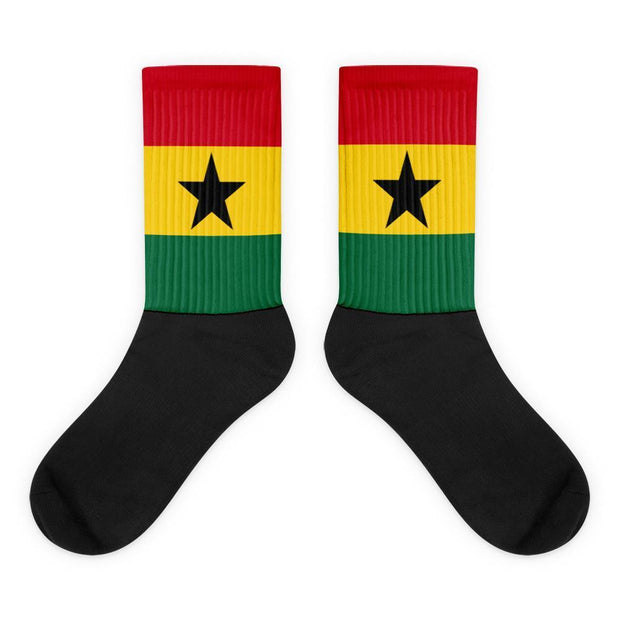 Ghana Flag Socks - Choose To Rep
