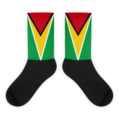 Guyana Flag Socks Choose To Rep M (6-8) Country Flag Socks, State Socks, Flag Socks, Patriotic Socks, Patriotic Products, Country Watches