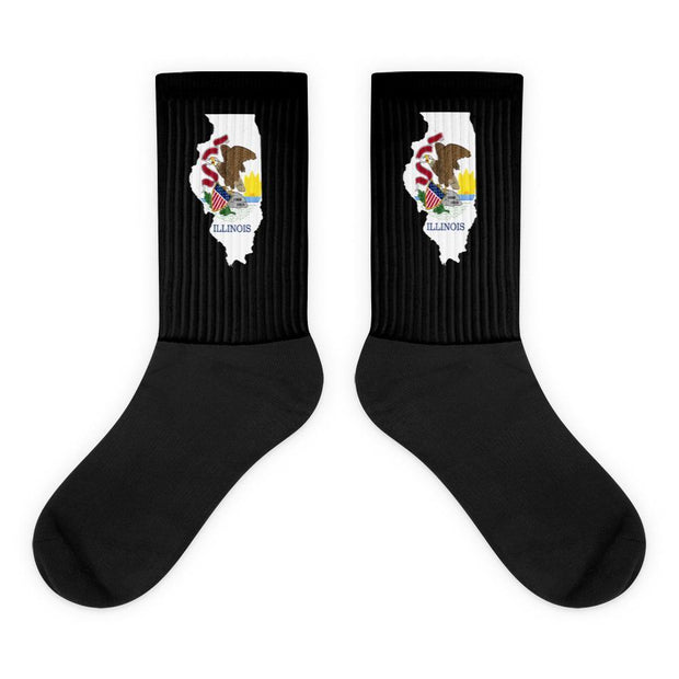 Illinois State Socks Choose To Rep M (6-8) Country Flag Socks, State Socks, Flag Socks, Patriotic Socks, Patriotic Products, Country Watches