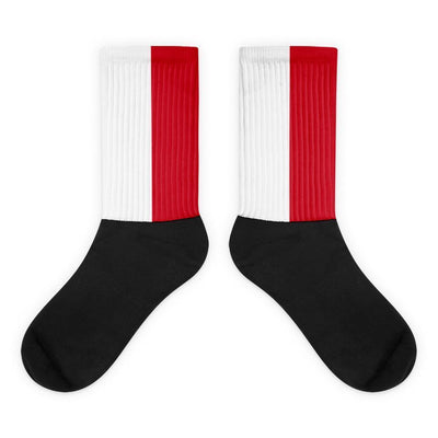 Indonesia Flag Socks Choose To Rep M (6-8) Country Flag Socks, State Socks, Flag Socks, Patriotic Socks, Patriotic Products, Country Watches