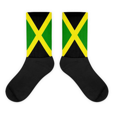 Jamaica - Flag Socks Choose To Rep M (6-8) Country Flag Socks, State Socks, Flag Socks, Patriotic Socks, Patriotic Products, Country Watches