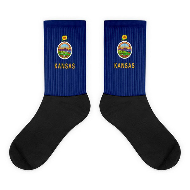 Kansas - Flag Socks Choose To Rep M (6-8) Country Flag Socks, State Socks, Flag Socks, Patriotic Socks, Patriotic Products, Country Watches