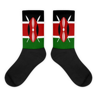 Kenya - Flag Socks Choose To Rep M (6-8) Country Flag Socks, State Socks, Flag Socks, Patriotic Socks, Patriotic Products, Country Watches