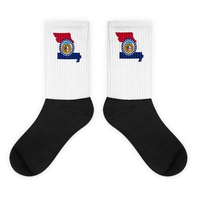 Missouri - State Socks Choose To Rep M (6-8) Country Flag Socks, State Socks, Flag Socks, Patriotic Socks, Patriotic Products, Country Watches