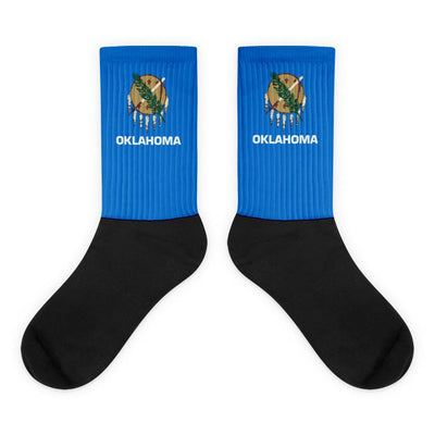 Choose To Rep M (6-8) Oklahoma - Flag Socks