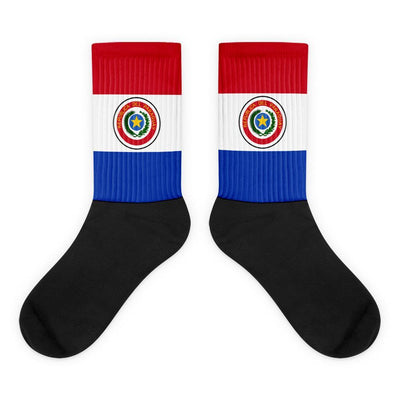 Choose To Rep M (6-8) Paraguay - Flag Socks