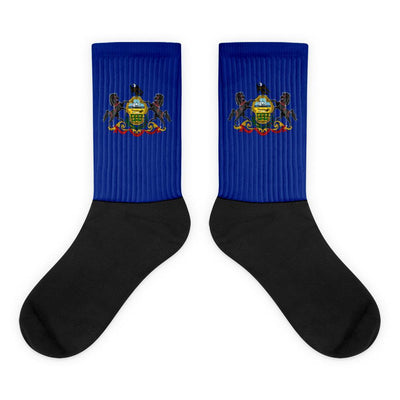 Choose To Rep M (6-8) Pennsylvania - Flag Socks