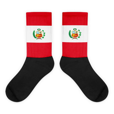 Choose To Rep M (6-8) Peru - Flag Socks