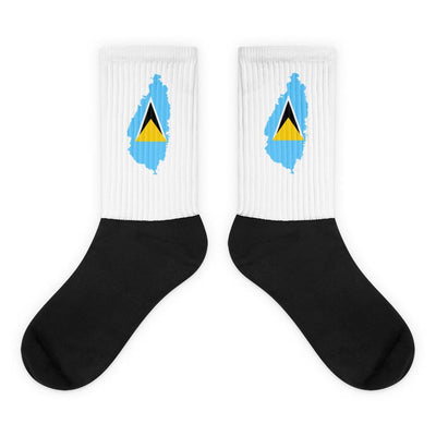 Saint Lucia Country Socks - Choose To Rep