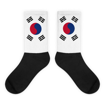 Choose To Rep M (6-8) South Korea - Flag Socks