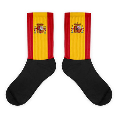 Choose To Rep M (6-8) Spain - Flag Socks