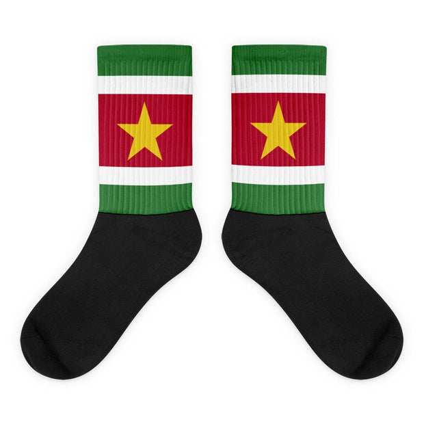 Choose To Rep M (6-8) Suriname - Flag Socks