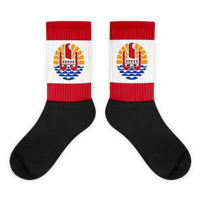 Tahiti Flag Socks - Choose To Rep