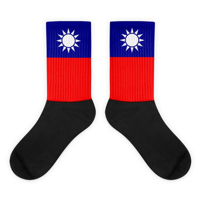 Choose To Rep M (6-8) Taiwan - Flag Socks