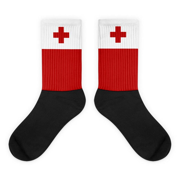 Choose To Rep M (6-8) Tonga - Flag Socks