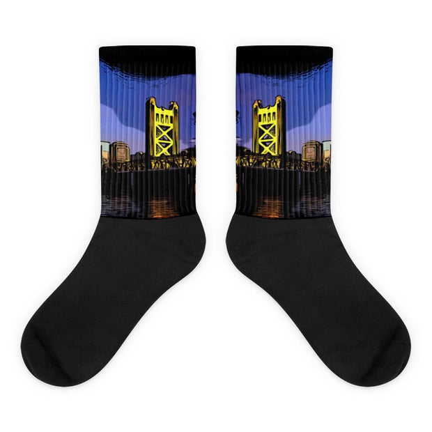 Choose To Rep M Sacramento Socks