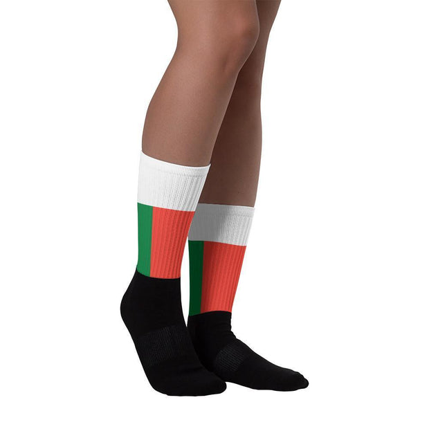 Madagascar - Flag Socks Choose To Rep Country Flag Socks, State Socks, Flag Socks, Patriotic Socks, Patriotic Products, Country Watches