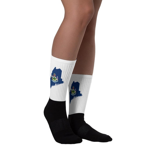 Maine - State Socks Choose To Rep Country Flag Socks, State Socks, Flag Socks, Patriotic Socks, Patriotic Products, Country Watches