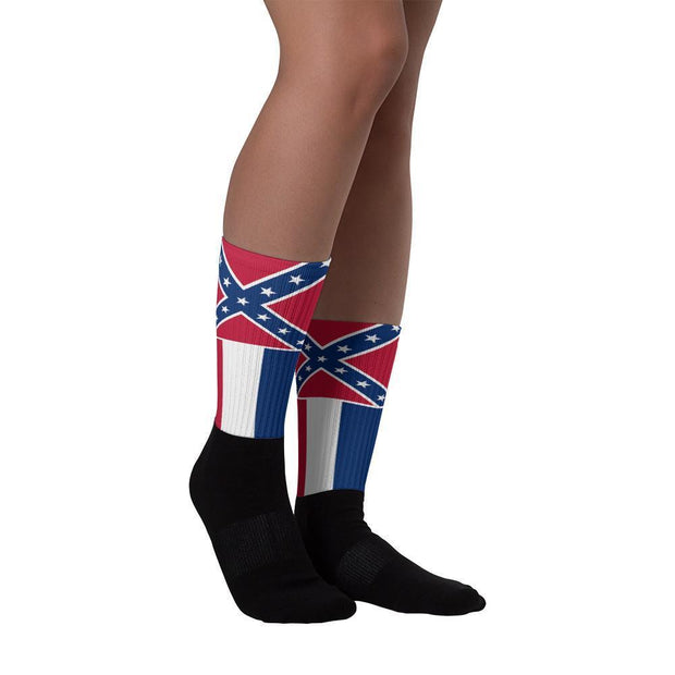 Mississippi - Flag Socks Choose To Rep Country Flag Socks, State Socks, Flag Socks, Patriotic Socks, Patriotic Products, Country Watches