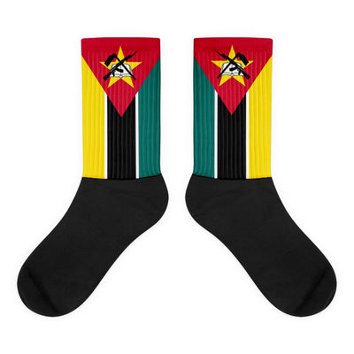 Mozambique - Flag Socks Choose To Rep Country Flag Socks, State Socks, Flag Socks, Patriotic Socks, Patriotic Products, Country Watches