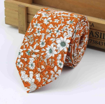 Choose To Rep Orange Floral