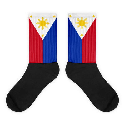 Choose To Rep Philippines - Flag Socks