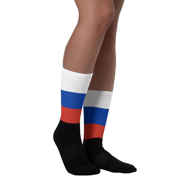Choose To Rep Russia - Flag Socks