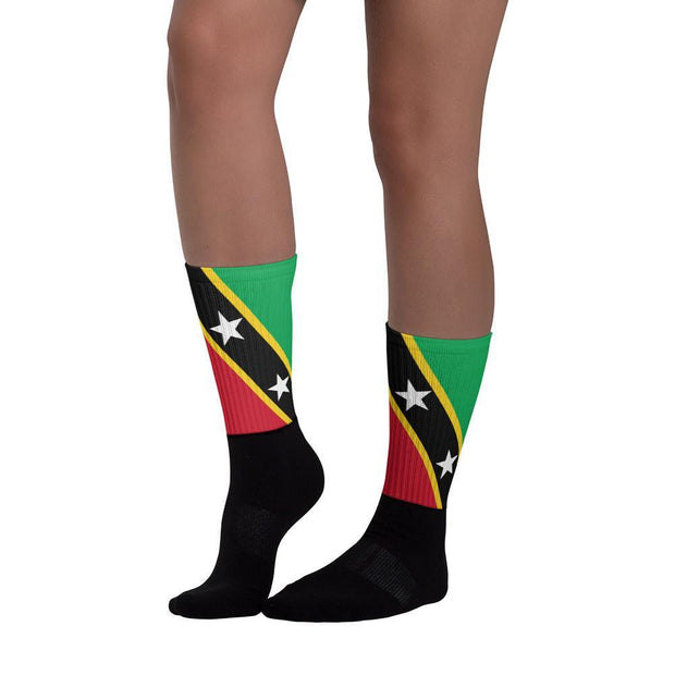 Choose To Rep Saint Kitts and Nevis - Flag Socks
