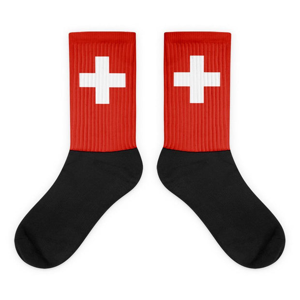 Choose To Rep Switzerland - Flag Socks