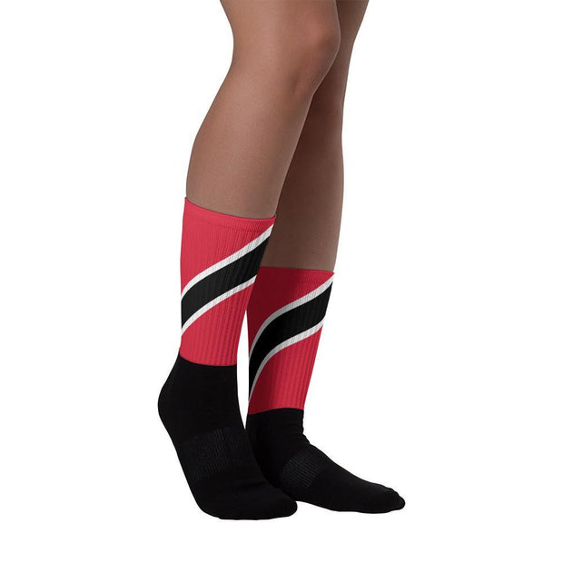 Choose To Rep Trinidad and Tobago - Flag Socks