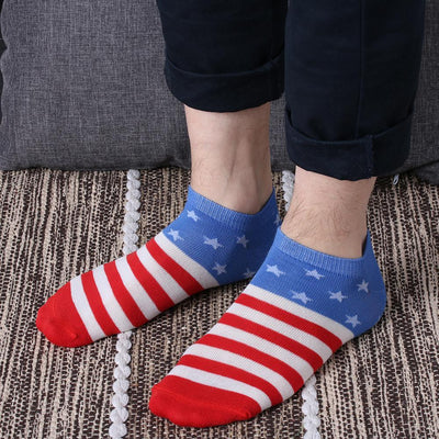 Choose To Rep United States - Ankle Flag Socks