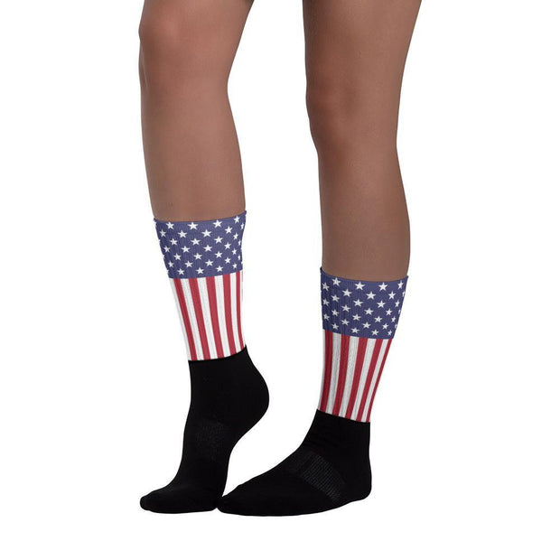 United States Flag Socks - Choose To Rep