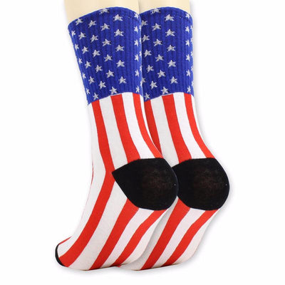 United States - Flag Socks Stitched - Choose To Rep