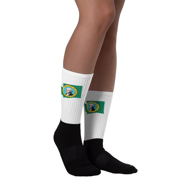 Choose To Rep M (6-8) Washington State Socks, Country Socks, City Socks, United States Socks