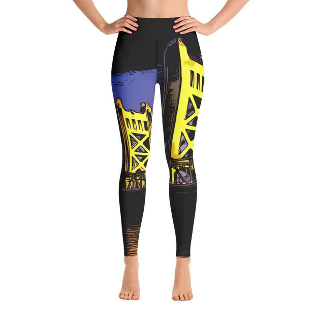 Choose To Rep XS Sacramento - Yoga Leggings
