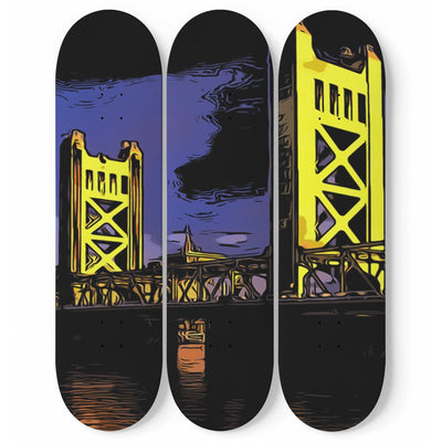 wc-fulfillment 3 Skateboard Wall Art Sacramento - Skateboard Wall Art