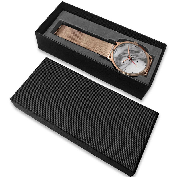 wc-fulfillment Rose Gold Watch Philippines - Dark Marble