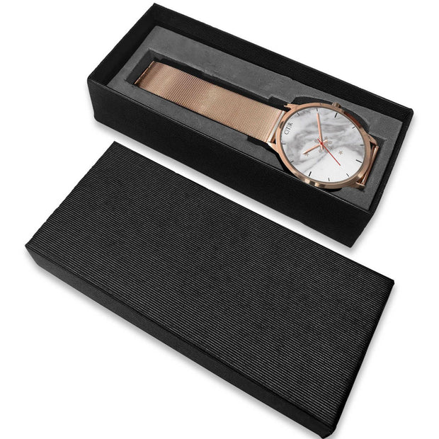 wc-fulfillment Rose Gold Watch Philippines - Light Marble