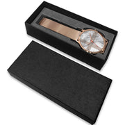 wc-fulfillment Rose Gold Watch Sweden - Light Marble