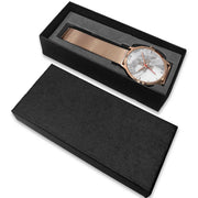 wc-fulfillment Rose Gold Watch Switzerland - Light Marble