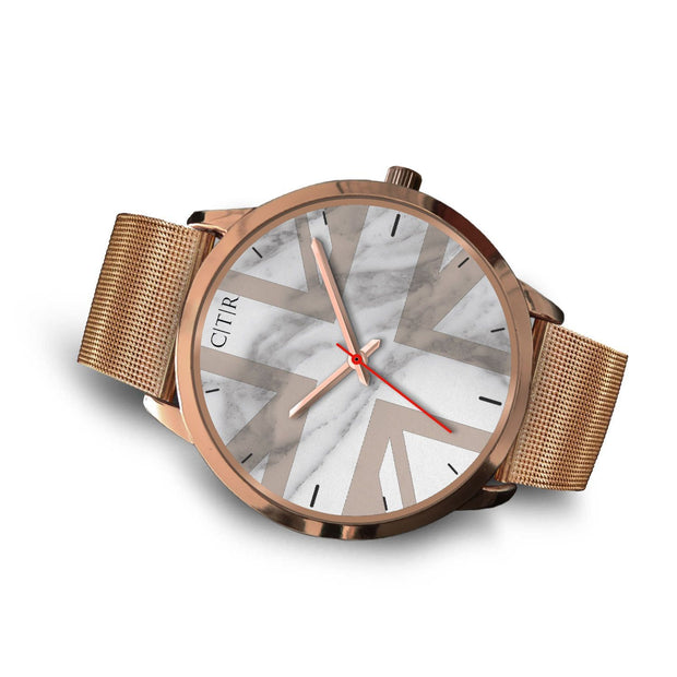 wc-fulfillment Rose Gold Watch United Kingdom - Light Marble