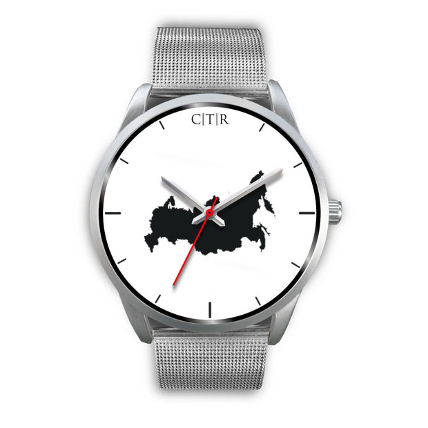 wc-fulfillment Silver Watch Mens 40mm / Silver Metal Mesh Russia - Simple Silver
