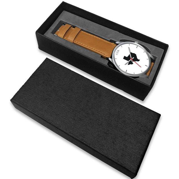 wc-fulfillment Silver Watch Texas - Simple Silver