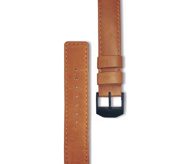 wc-fulfillment Watch Band Mens 40mm / Brown Watch Band
