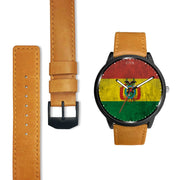 Bolivia Flag Watch Watch wc-fulfillment Country Flag Socks, State Socks, Flag Socks, Patriotic Socks, Patriotic Products, Country Watches
