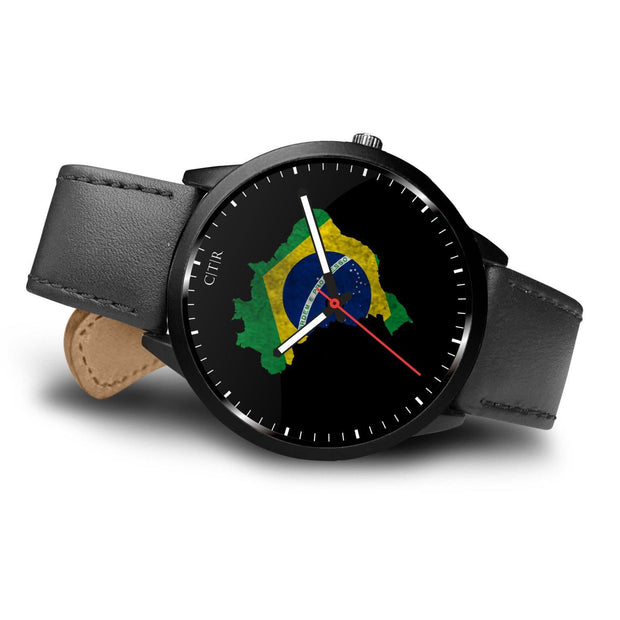 Brazil Flag Watch Watch wc-fulfillment Country Flag Socks, State Socks, Flag Socks, Patriotic Socks, Patriotic Products, Country Watches